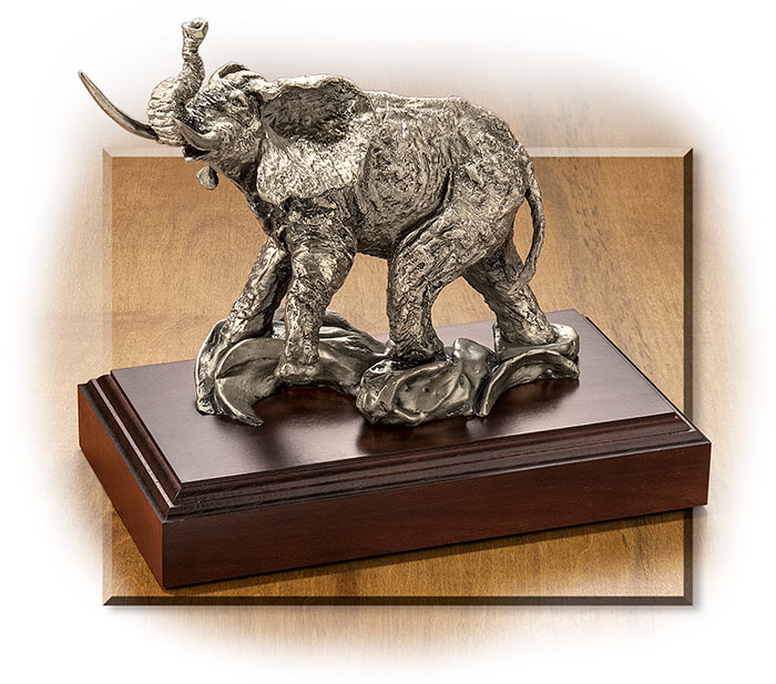 Bull Elephant Sculpture