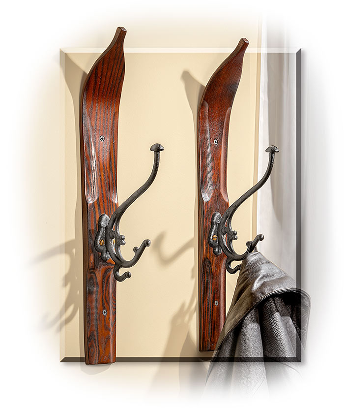Snow Ski Coat Hook-Single Hook