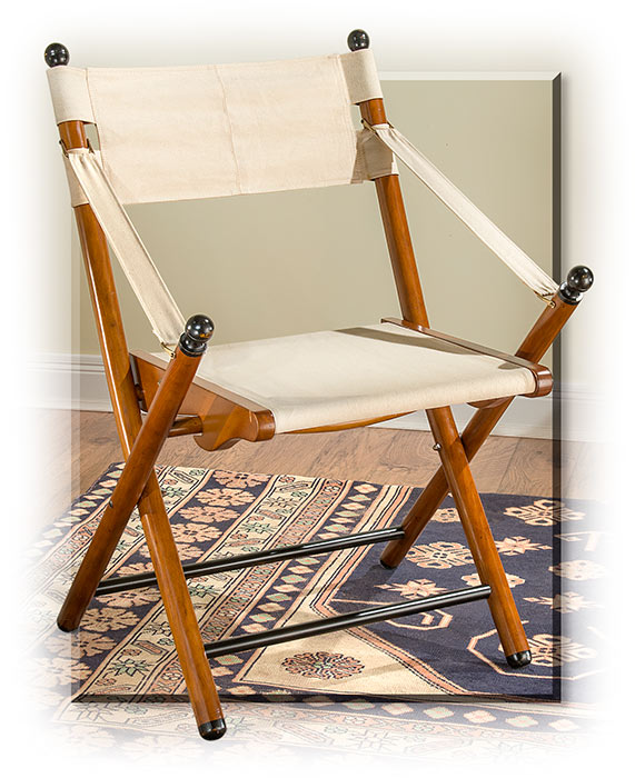 French Transatlantic Steamer Chair