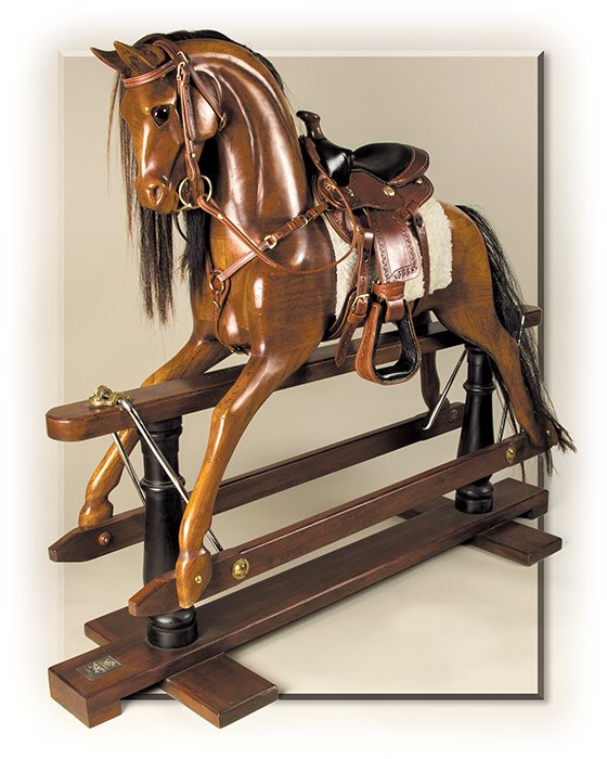 Old Time Rocking Horse