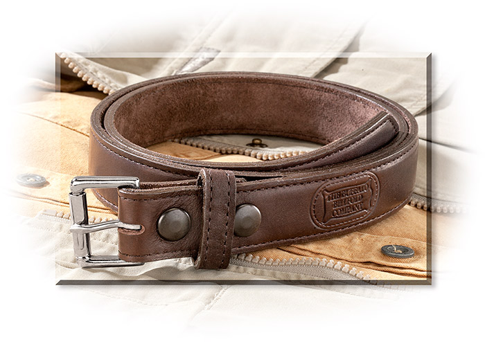 American Bison Leather Belt size 34