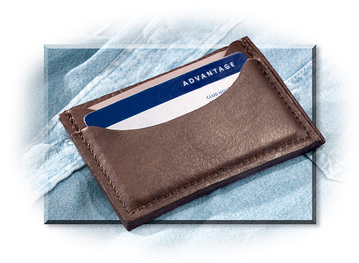 Bison Front Pocket Wallet