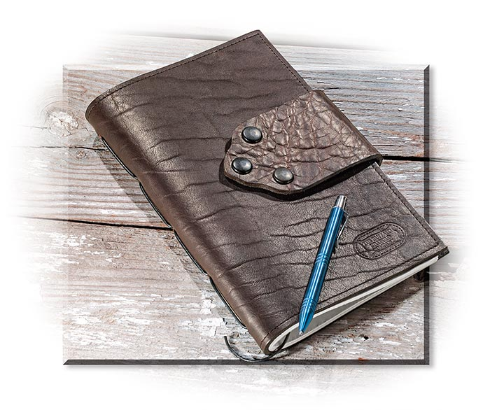 American Bison Leather Journal