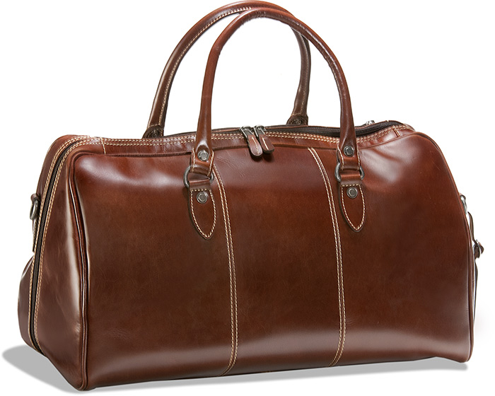 Buffalo Leather Duffel