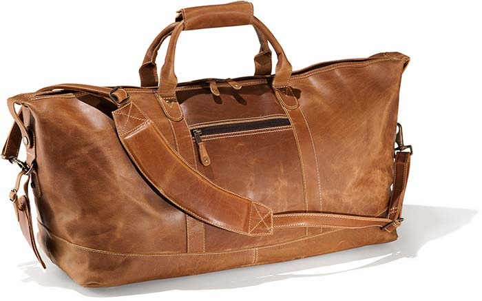 Buffalo Leather Carry On