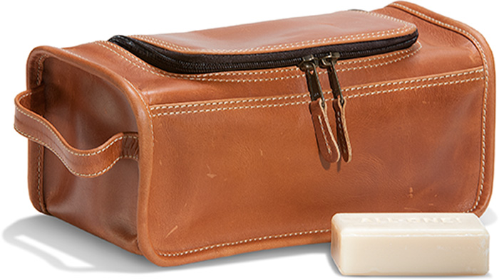 1c07f769d0 Leather Toiletry Kit