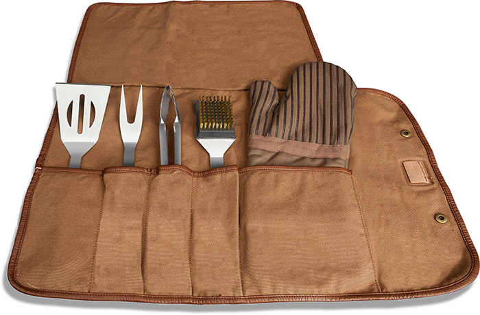 BBQ Tools in Canvas Carry All
