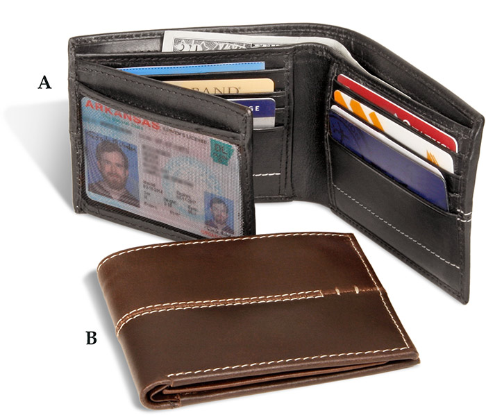 Rugged Leather Wallet brown