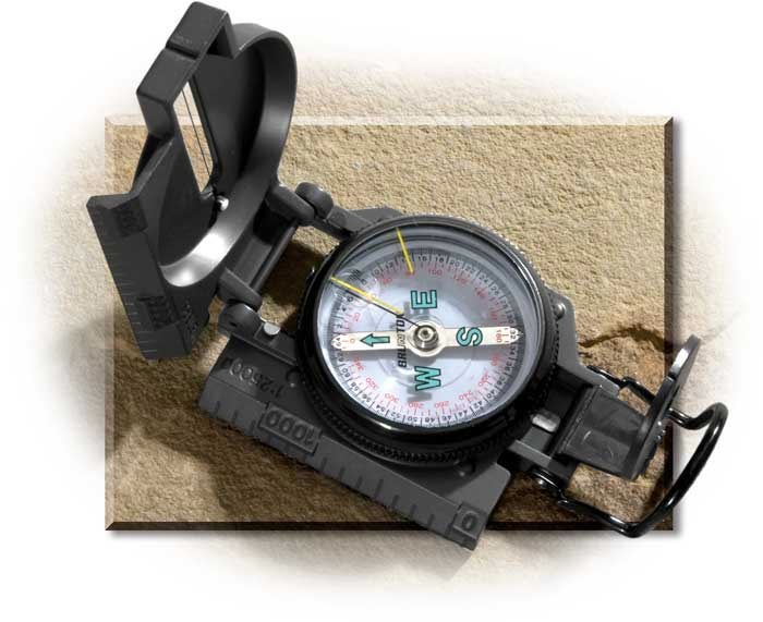 Classic Military Style Compass