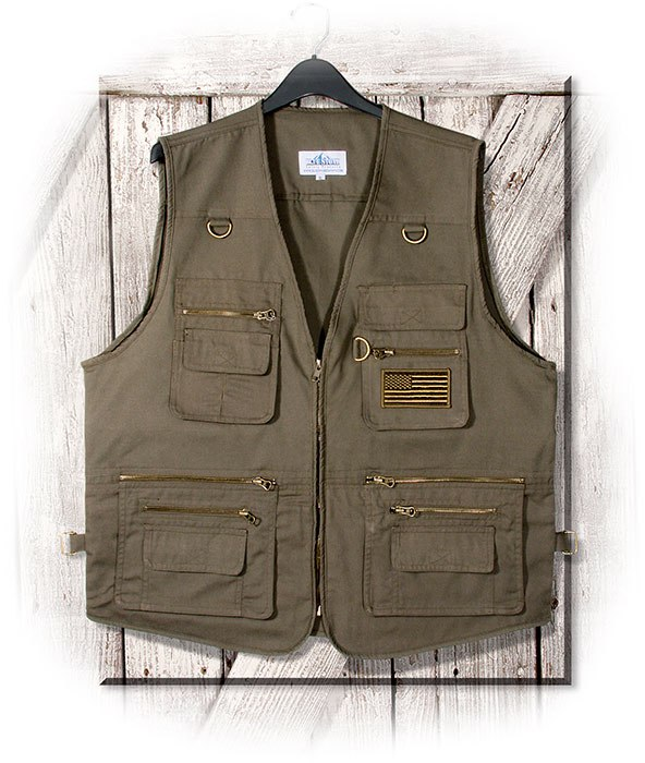 Concealed Carry Canvas Vest