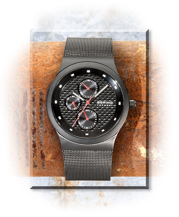Bering Stainless, Ceramic and Carbon Fiber Watch