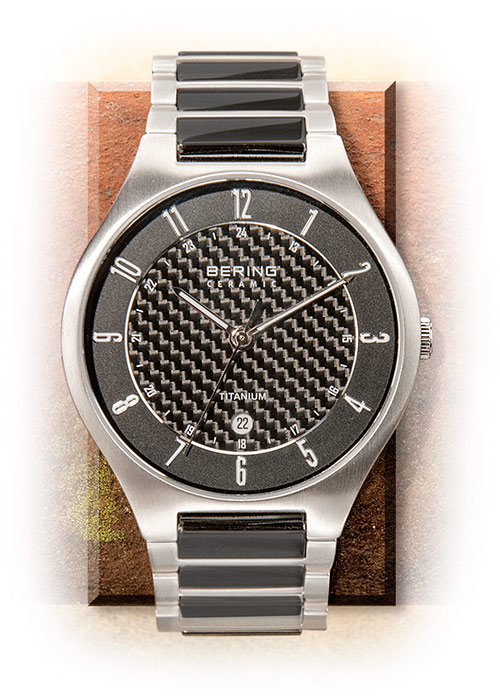 Carbon Fiber & Ceramic Men's Watch