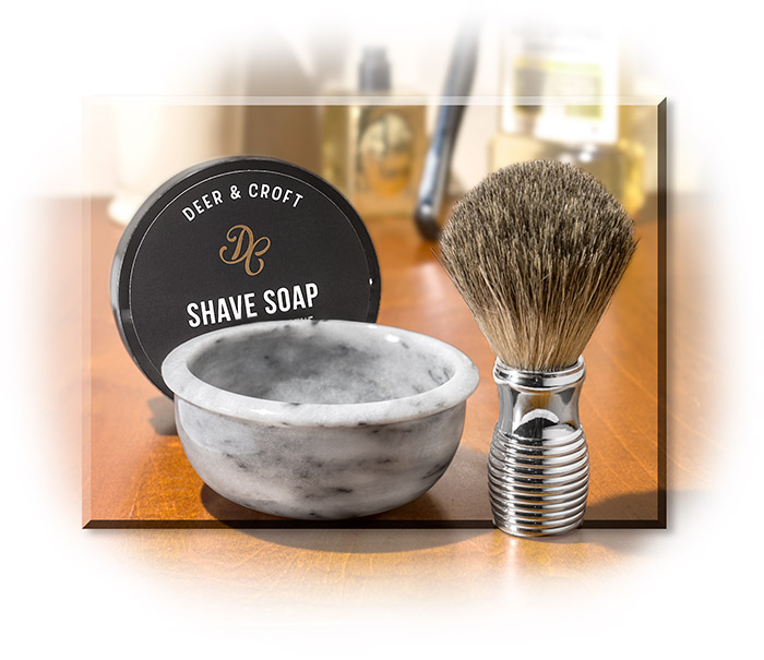 Three Piece Shaving Set