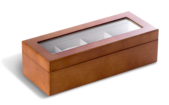 Wooden Four Watch Box