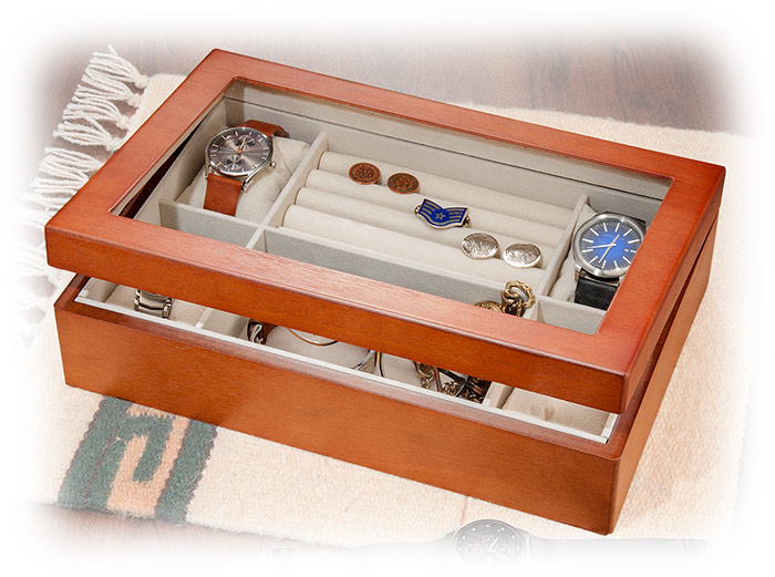 Watch and Jewelry Storage Chest