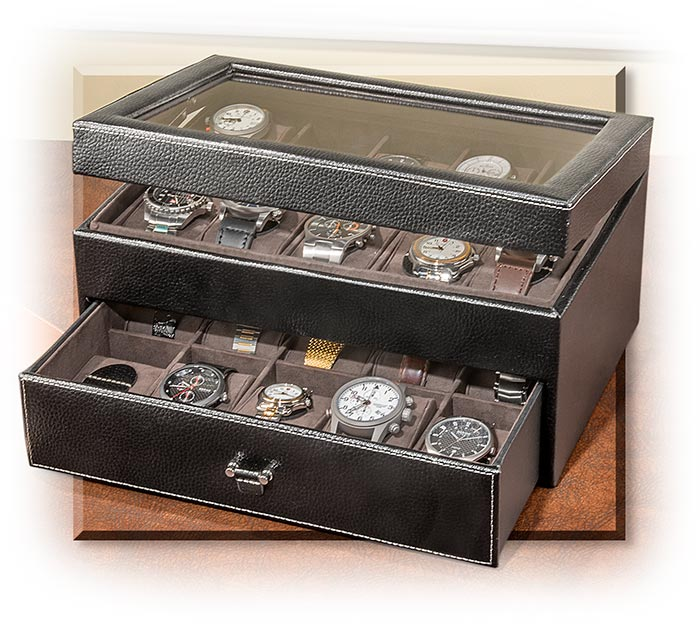 Leather Twenty Watch Box
