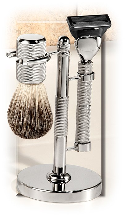 Chrome Fusion Razor Set