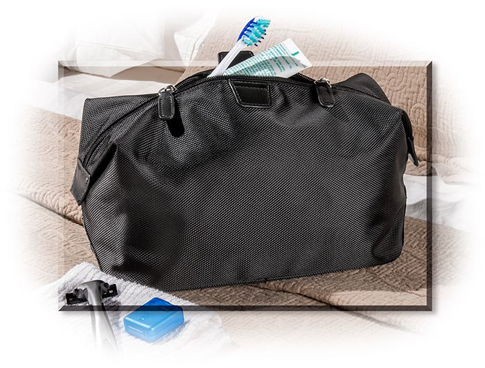 Ballastic Nylon Dopp Kit