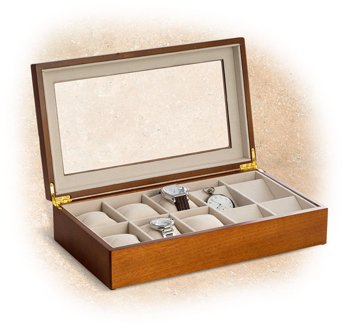 Wristwatch and Pocket Watch Box