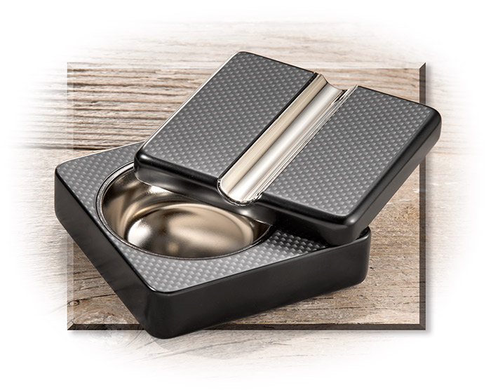 Swivel Lid Cigar Ashtray