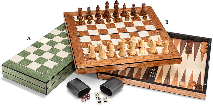 Chess/Backgammon Game Set