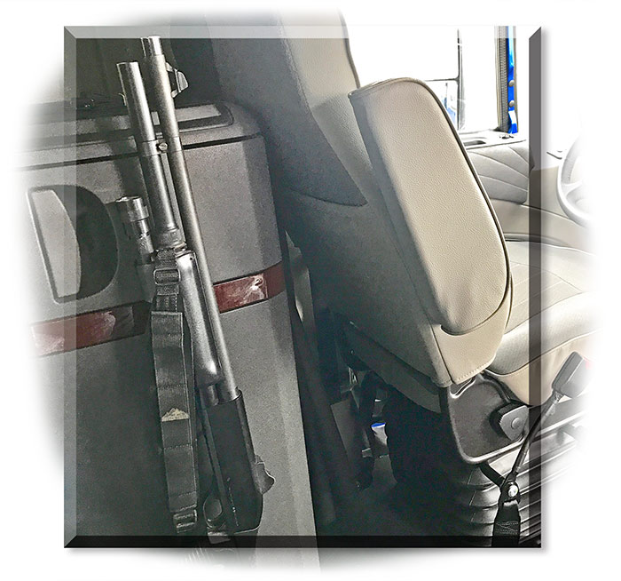 Secure Vehicle Gun Mount