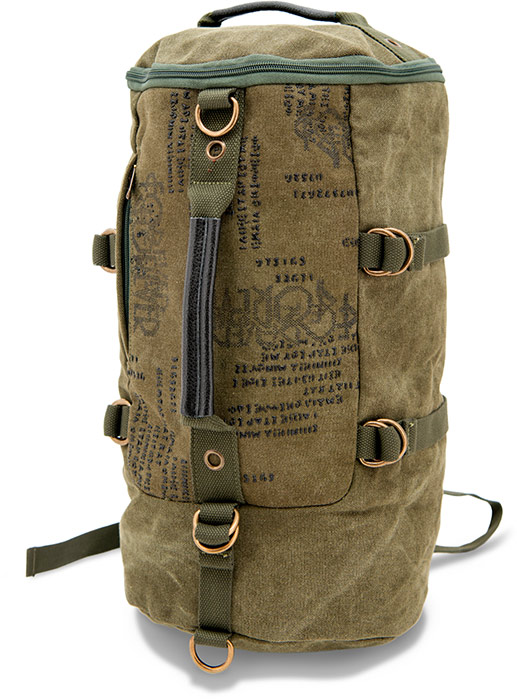 Concealed Carry Duffle Style Backpack