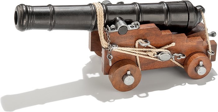 Revolutionary War Naval Cannon
