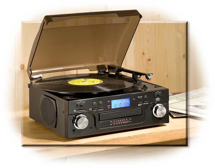 Crosley Turntable - Recording Capable