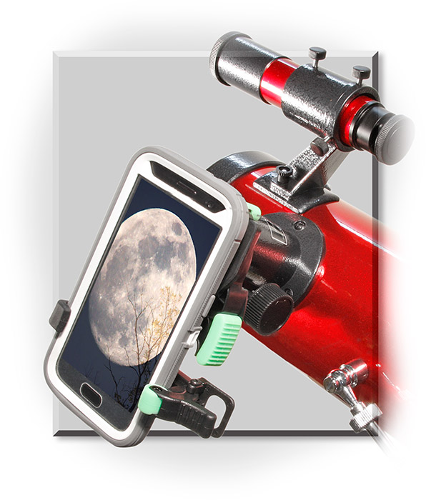 Telescope with Smartphone Adapter