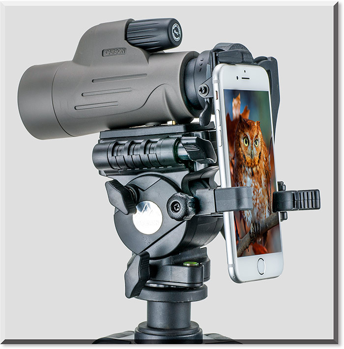 8x42mm Monocular with Smartphone Adapter