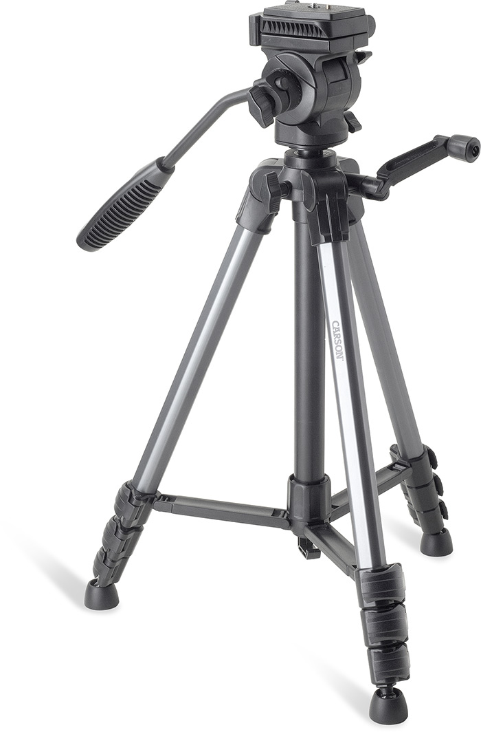 THE ROCK TRIPOD-NON-SLIP PIVOTING RUBBER FEET-QUICK RELEASE-360 DEG MOVEMENT-BUBBLE LEVEL