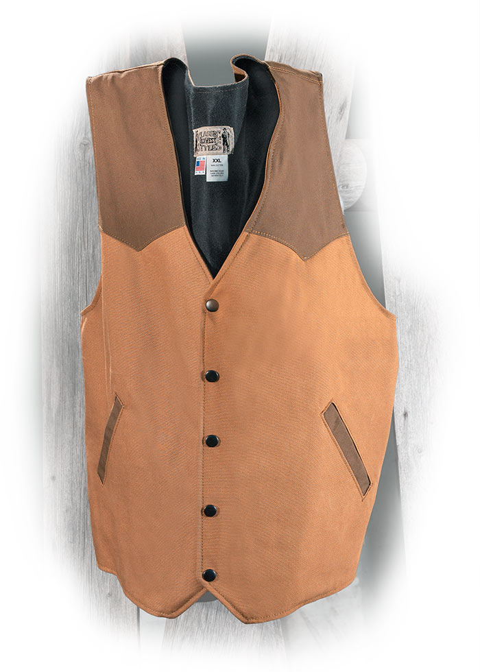 Heavy-Duty Cotton Conceal Carry Vest