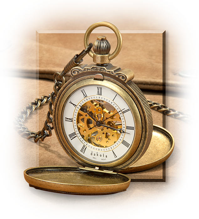 Classic Windup Pocket Watch