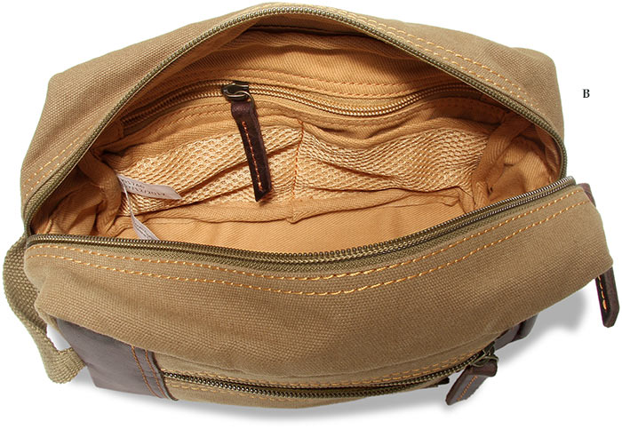 Canvas & Buffalo Leather Duffle