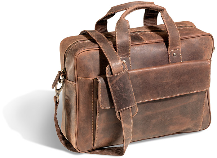 Classic Full Grain Leather Briefcase