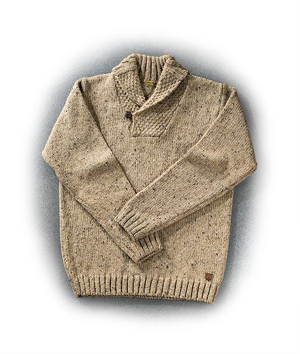 Donegal Ireland Wool Sweater Russell S For Men