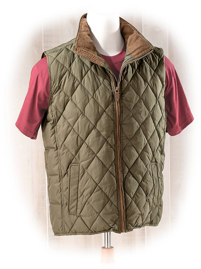 Dubarry of Ireland Quilted Down Vest Medium