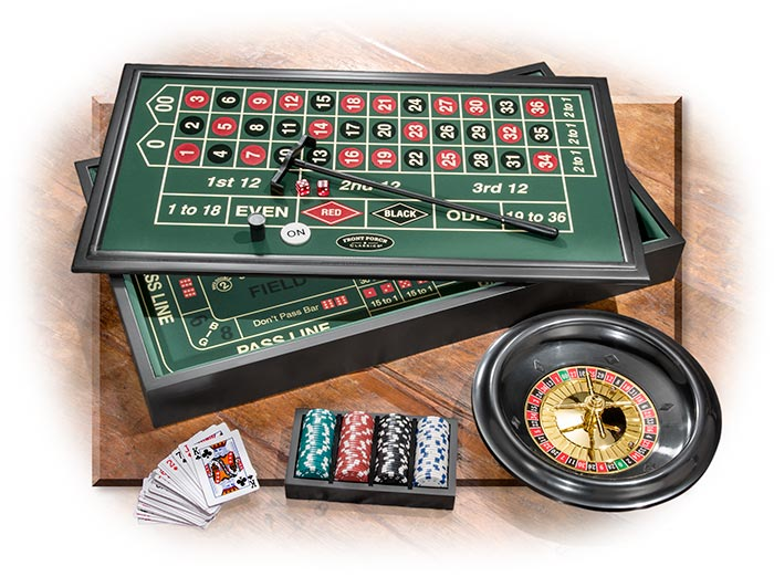 4-in-1 Casino Set