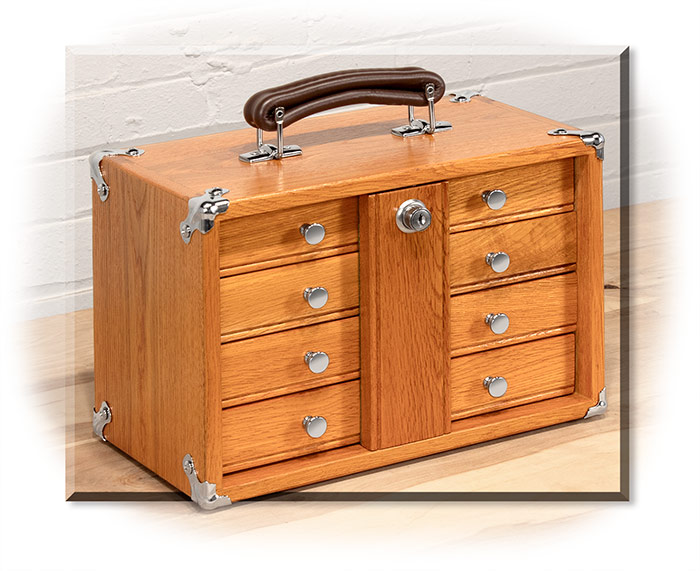 Gerstner International Portable Mini Chest