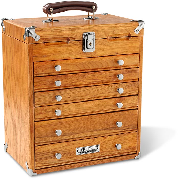 Gerstner International Portable 6 Drawer Chest
