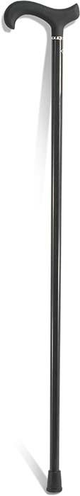 "Black Carbon Fiber Cane for men by Harvy Surgical Supply. 37"" long."