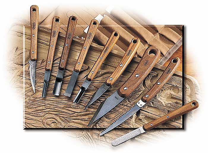 9 Piece Woodcarvers Set