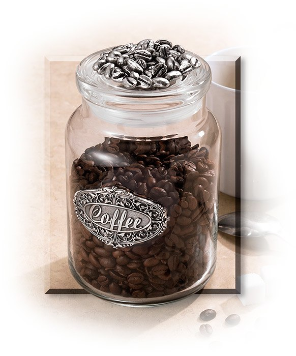 Gourmet Coffee Jar