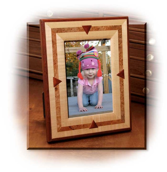Exotic Wood Picture Frames
