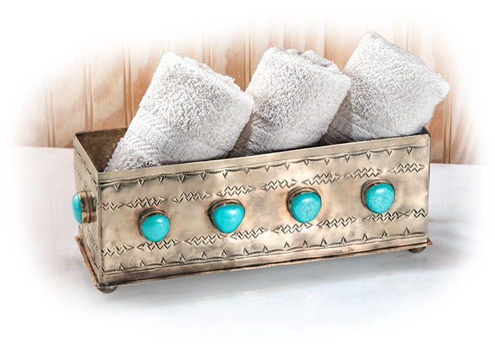Silver and Turquoise Box
