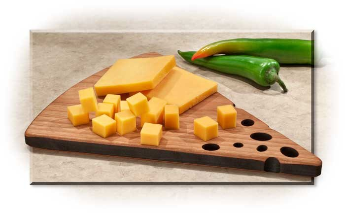 Cherry Wood Cheese Board