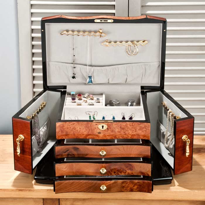 Heirloom Jewelry Chest