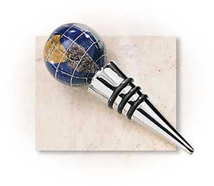 Gemstone Globe Winestoppers