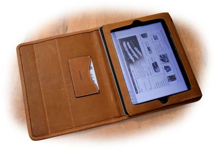 Korchmar Full Grain American Steerhide iPad2